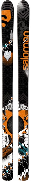 Salomon El Dictator Ski Review 2011