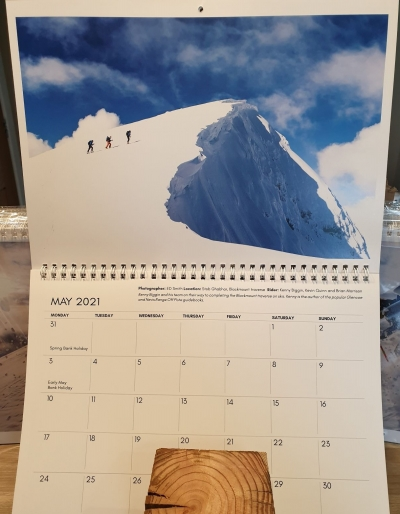 British Backcountry Calendar